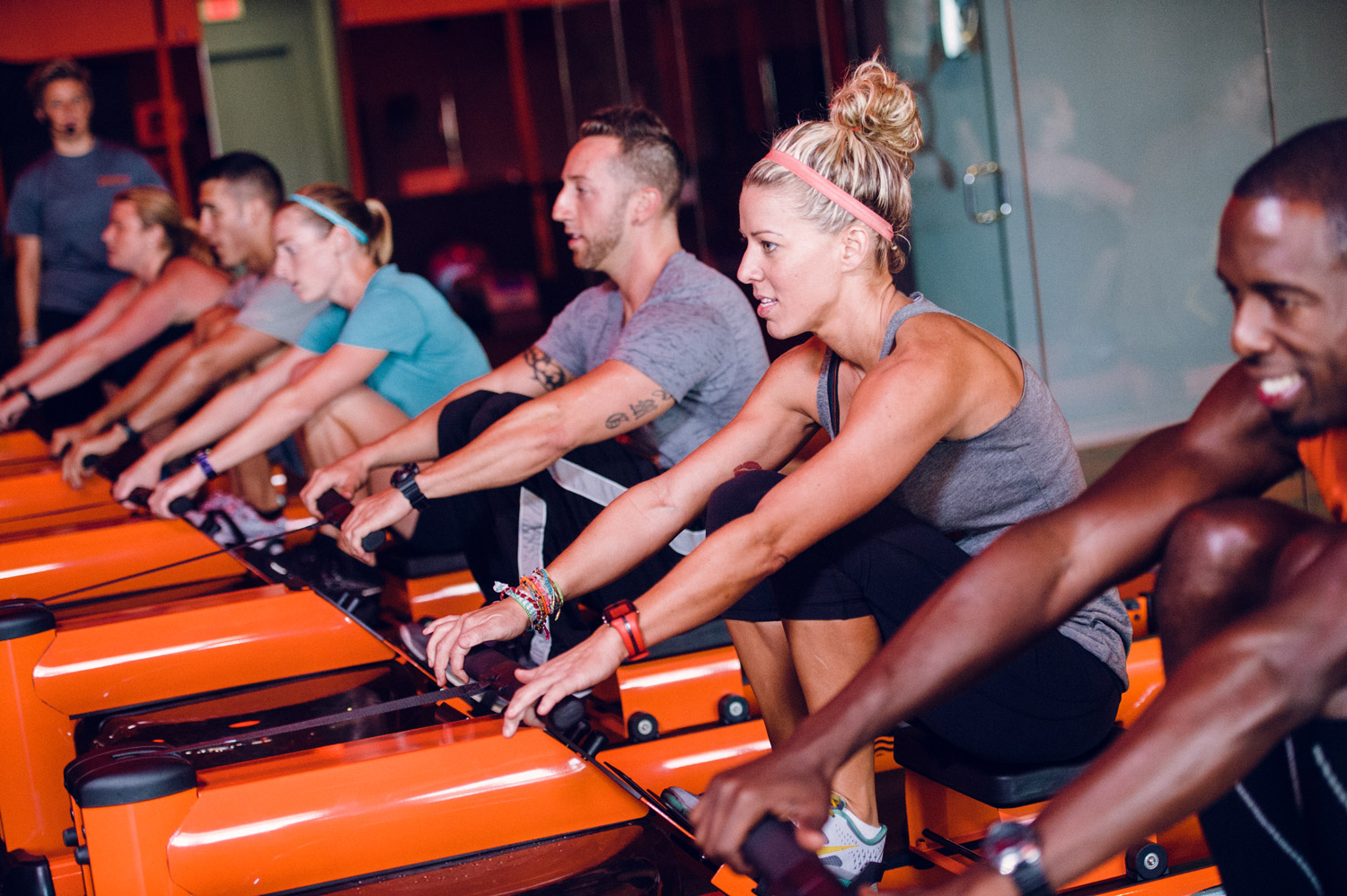 waterrower - orange theory